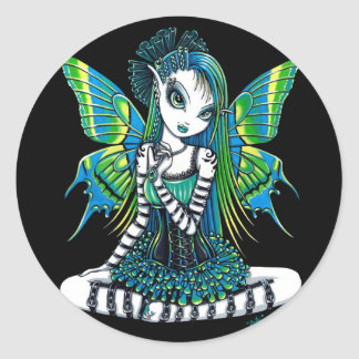 """Katy"" Green Tattoo Faerie Stickers"
