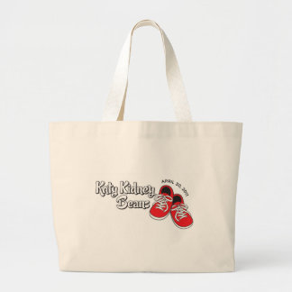 Katy Kidney Beans Large Tote Bag
