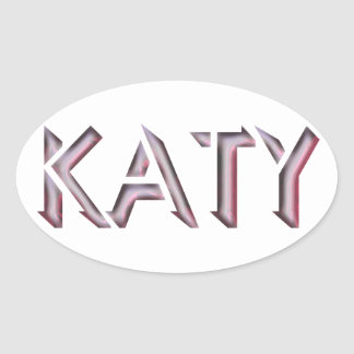 Katy sticker name