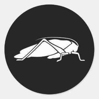 Katydid Classic Round Sticker