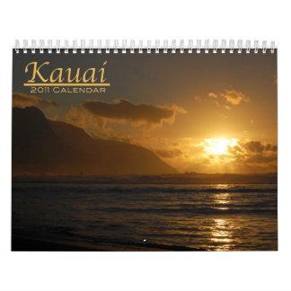 Kauai 2011 Calendar