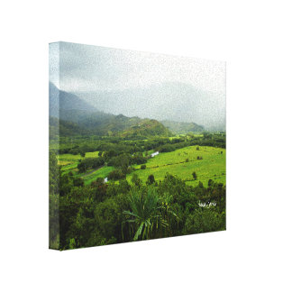 Kauai, Hawaii Landscape Scene Canvas Print