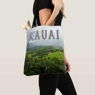 Kauai, Hawaii Landscape Scene Tote Bag