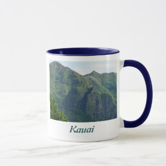 Kauai Hawaii Mountainscape Mug