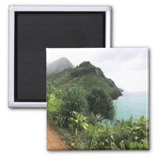 Kauai Kalalau Trail Refrigerator Magnet