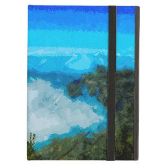 Kauai Na Pali Coast From Koke'e Abstract iPad Air Case
