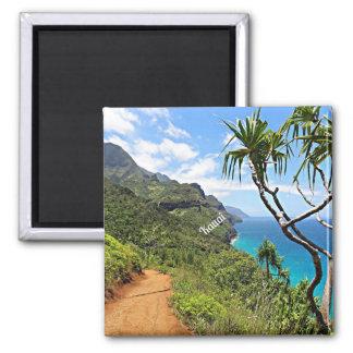 Kauai - Na Pali Coast tropical landscape Magnet