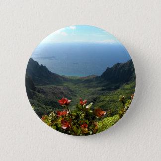 Kauai's Na Pali Coast 2 Inch Round Button