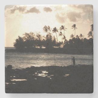 Kauai Sunset Stone Coaster