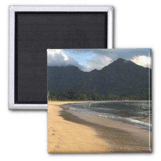 Kauai Surf Co. Hanalei Beach Refrigerator Magnet