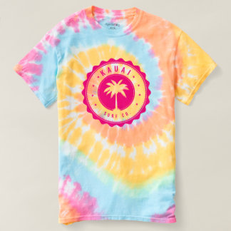 Kauai Surf Co. Spiral Tie-Dye T-Shirt