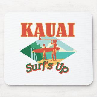 Kauai Surfs Up Mouse Pad