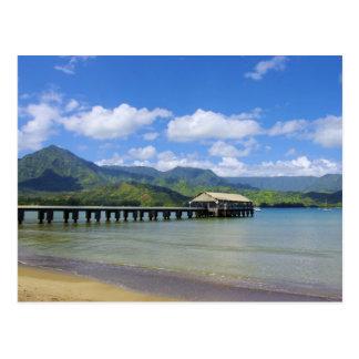 Kauai - The Pier at Hanalei Postcard