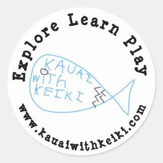 Kauai with Keiki Sticker