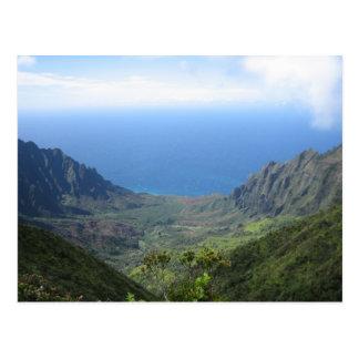 Kauai's Na Pali Coast postcard
