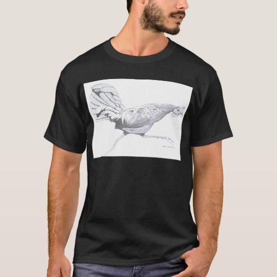Kauai's rooster running. T-Shirt
