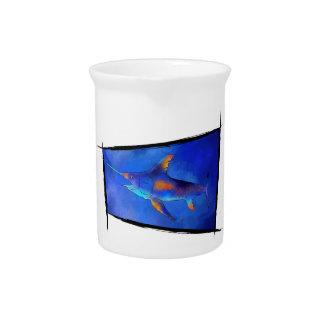 Kauderon V1 - Beautiful Swordfish Beverage Pitcher