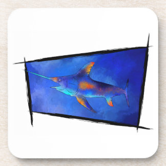 Kauderon V1 - Beautiful Swordfish Coaster
