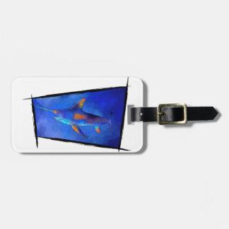 Kauderon V1 - Beautiful Swordfish Luggage Tag