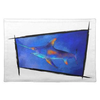 Kauderon V1 - Beautiful Swordfish Placemats