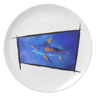 Kauderon V1 - Beautiful Swordfish Plate