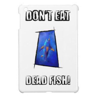 Kauderon V1 - Beautiful Swordfish with text iPad Mini Covers