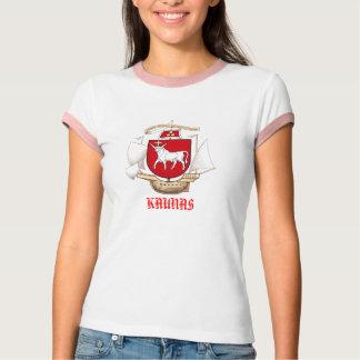Kaunas Lietuva NEW COA Front T-Shirt