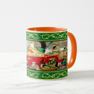 Kaur - 10 Gurus - orange Mug