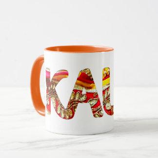 Kaur 2 - orange mug