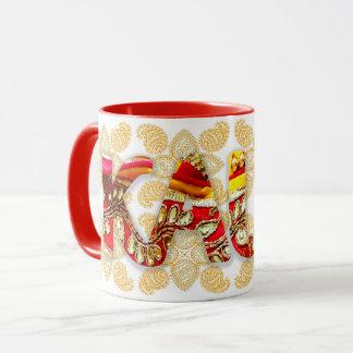 Kaur Gold - red Mug