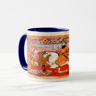 Kaur - Sikh Historic Art #4 - dk blu Mug