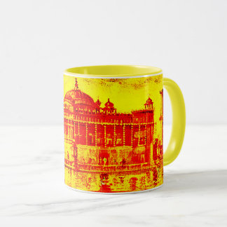 Kaur - Sikh Historic Art #6 - yellow Mug