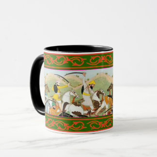 Kaur -  Sikh Historical Art #3 - black Mug