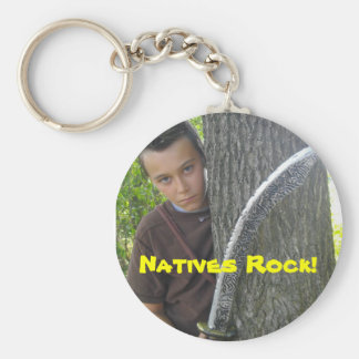 Kava, Natives Rock Key Chain