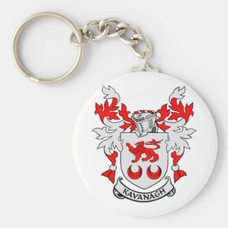 KAVANAGH Coat of Arms Basic Round Button Keychain