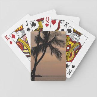 Kawaihae Sunset Playing Cards