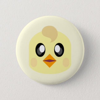 KAWAII ADORABLE CHICKIE 2 INCH ROUND BUTTON
