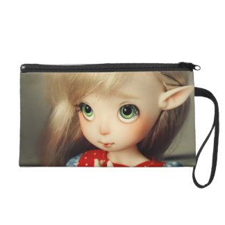 kawaii adorable elf doll bjd beautiful pretty girl wristlets