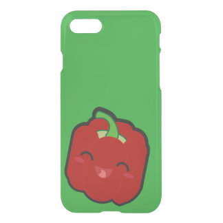 Kawaii and funny red pepper iPhone 7 case