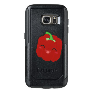 Kawaii and funny red pepper OtterBox samsung galaxy s7 case