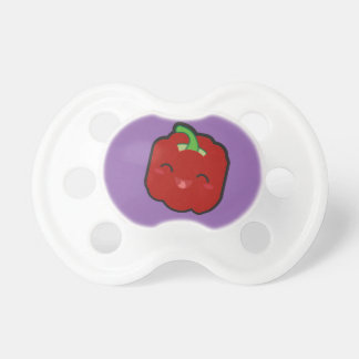 Kawaii and funny red pepper pacifier