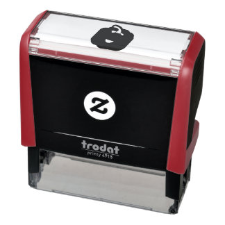 Kawaii and funny red pepper self-inking stamp