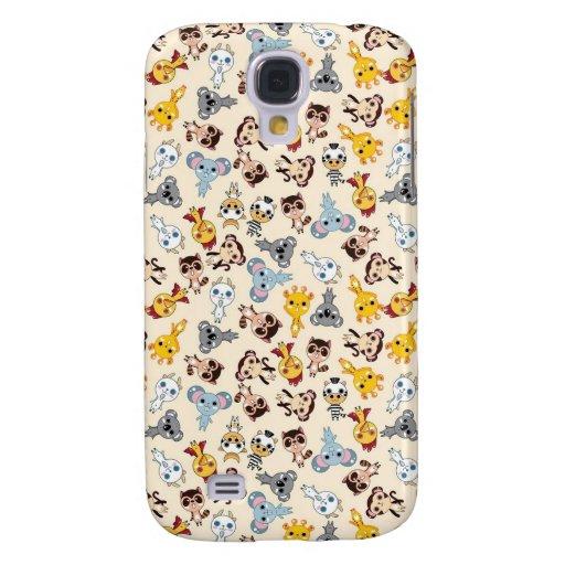 Kawaii Animals Samsung Galaxy S4 Covers