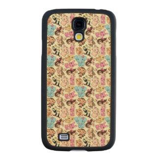 Kawaii Animals Maple Galaxy S4 Slim Case