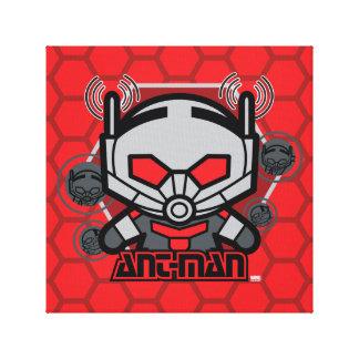 Kawaii Ant-Man Graphic Canvas Print