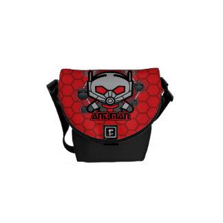 Kawaii Ant-Man Graphic Courier Bag