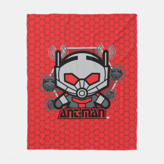 Kawaii Ant-Man Graphic Fleece Blanket