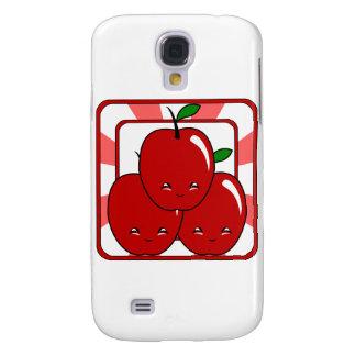Kawaii Apple Basket (Boy) Samsung Galaxy S4 Cases