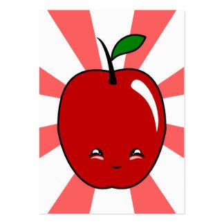Kawaii Apple (Boy) Pack Of Chubby Business Cards