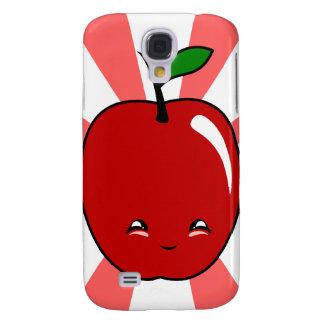 Kawaii Apple (Boy) Samsung Galaxy S4 Cover